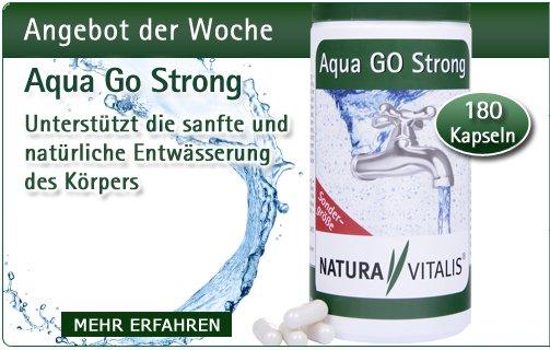 Aqua GO Strong - 120 Entwässerungskapseln