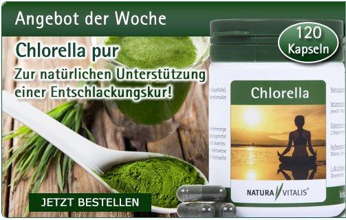 Chlorella von Natura Vitalis - 120 Kapseln