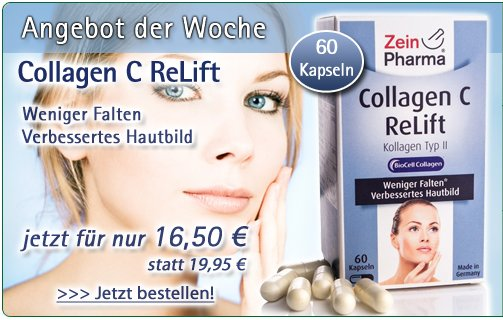 Collagen C ReLift - 60 Kapseln von ZeinPharma