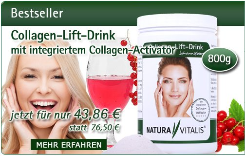Collagen-Lift-Drink (800g) mit integriertem Collagen-Activator