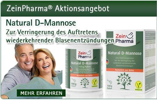 D-Mannose Pulver 100g von ZeinPharma