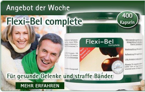 Flexi-Bel complete 400 Kapseln von Natura Vitalis