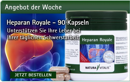 Heparan Royale für die Leber - 90 Kapseln