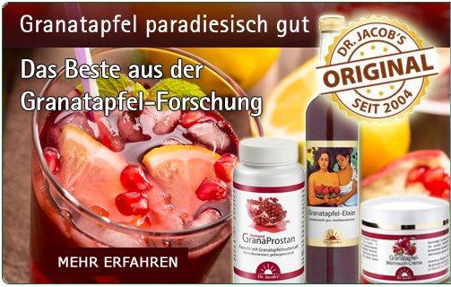 Dr. Jacobs Granatapfel-Produkte