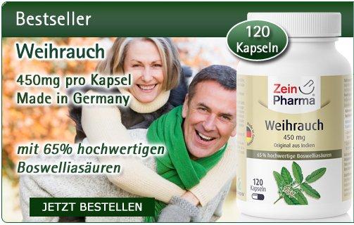 Weihrauch Kapseln 450mg vegetarisch 120 Stück