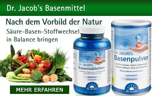Dr. Jacob's Basenpulver & mehr