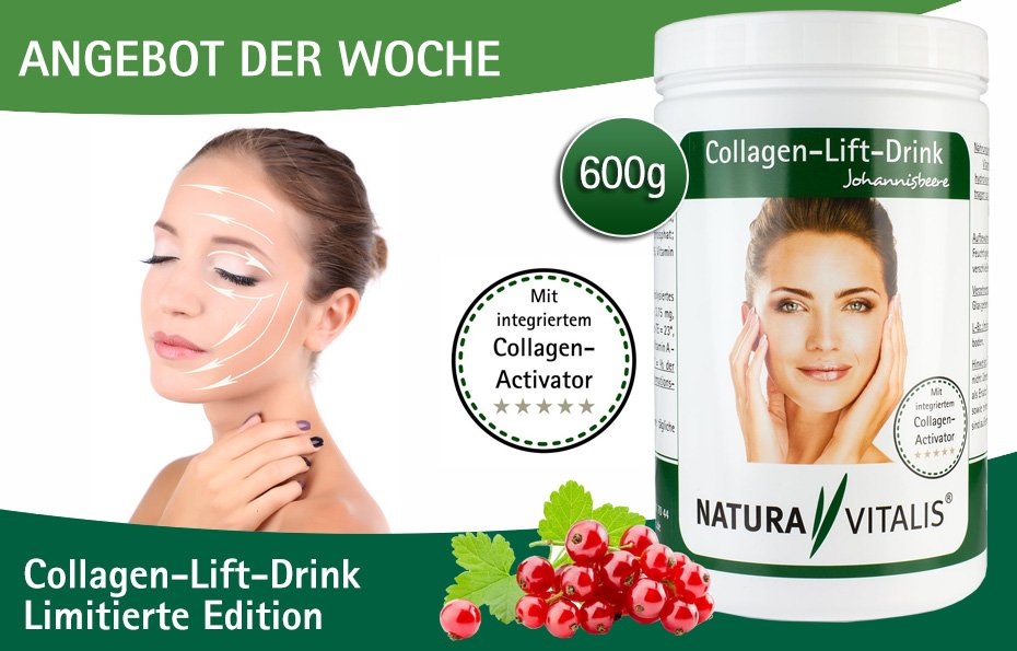Collagen-Lift-Drink 600g von Natura Vitalis