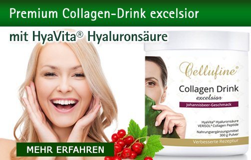 Collagen-Drink excelsior mit Hyaluronsäure von Cellufine