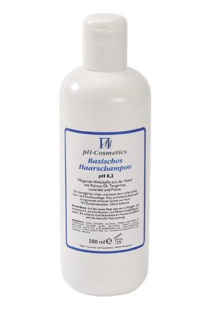 Basisches Haarshampoo pH 8,2 - 500ml