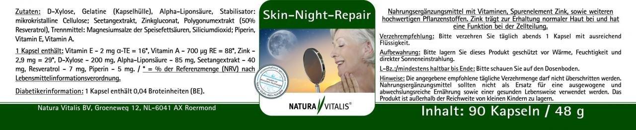 Skin-Night-Repair - Schön im Schlaf! 2 x 90 Kapseln