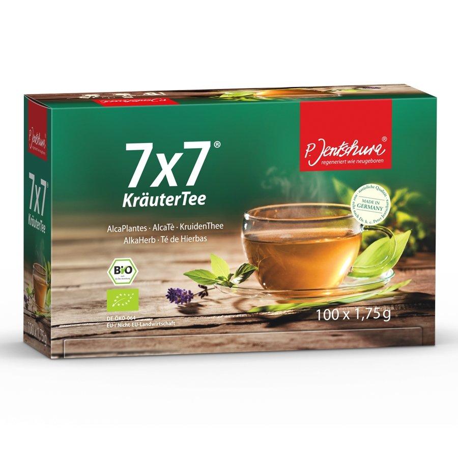 P. Jentschura 7x7® KräuterTee Bio - 100 Filterbeutel