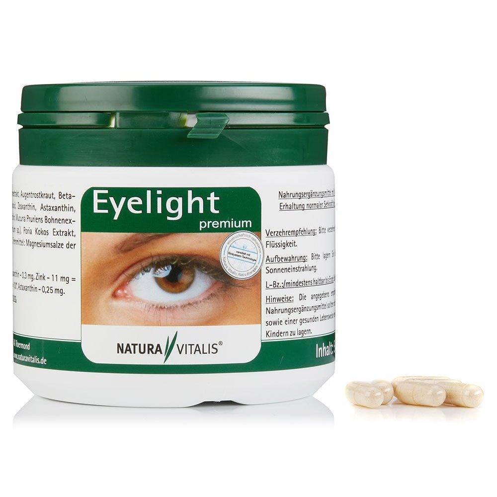 Eyelight premium 500 Kapseln - Power für Ihre Augen