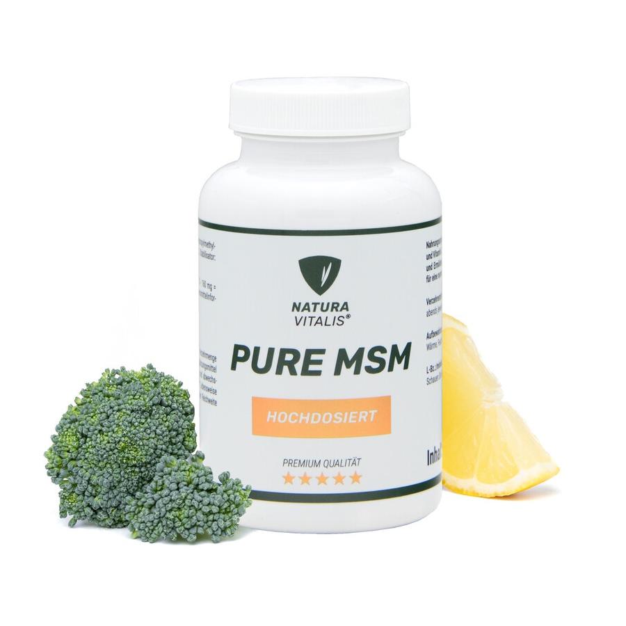 Pure MSM - 240 Kapseln von Natura Vitalis®