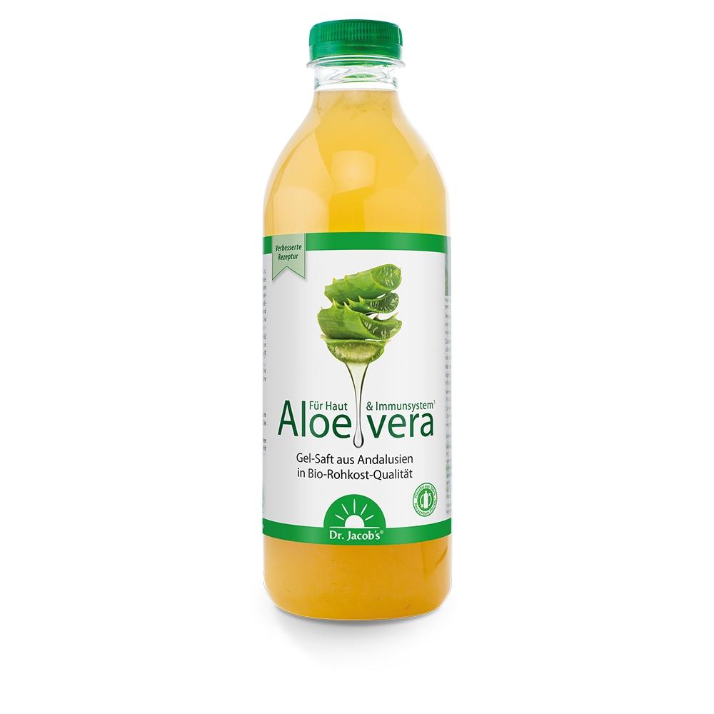 Aloe-vera-Gel-Saft BIO 1 L