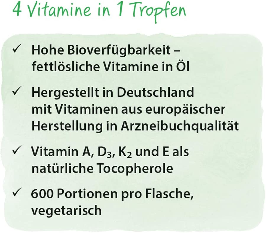 Dr. Jacobs Vitamin DEKA Öl - 20 ml