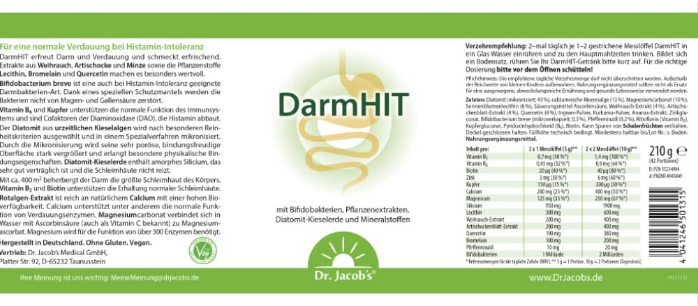 Dr. Jacobs DarmHIT 210g