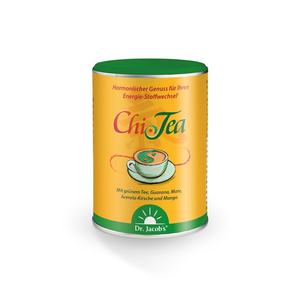 Chi-Tea mit grünem Tee, Guarana, Mate & mehr - 180g