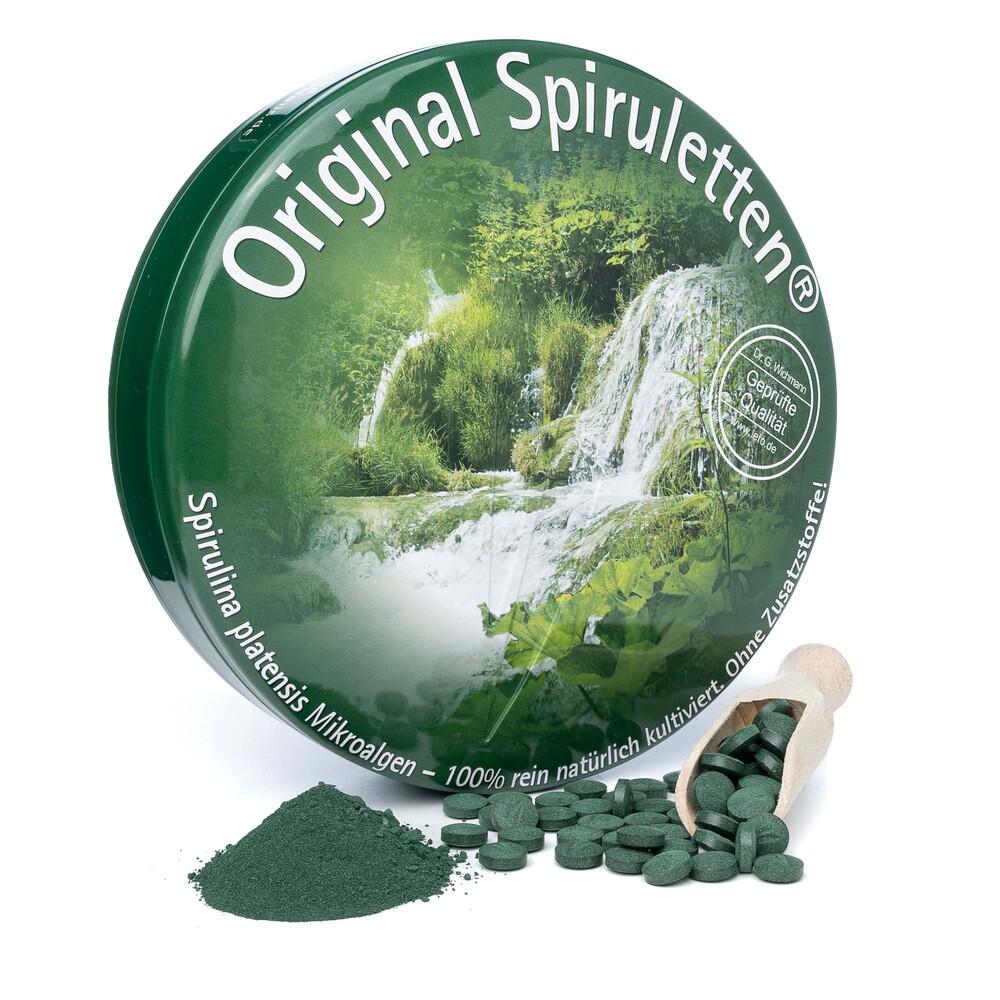 Spirulina in Spirulettenform 1700 Original Spiruletten®