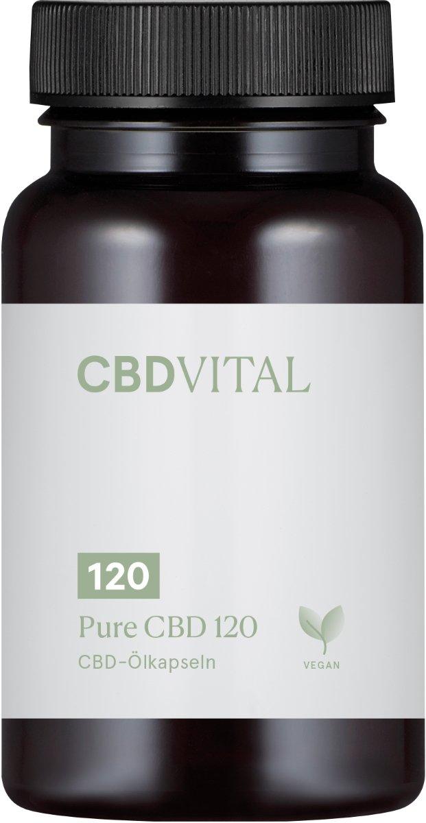 PURE CBD 250 (50%) - 30 Kapseln