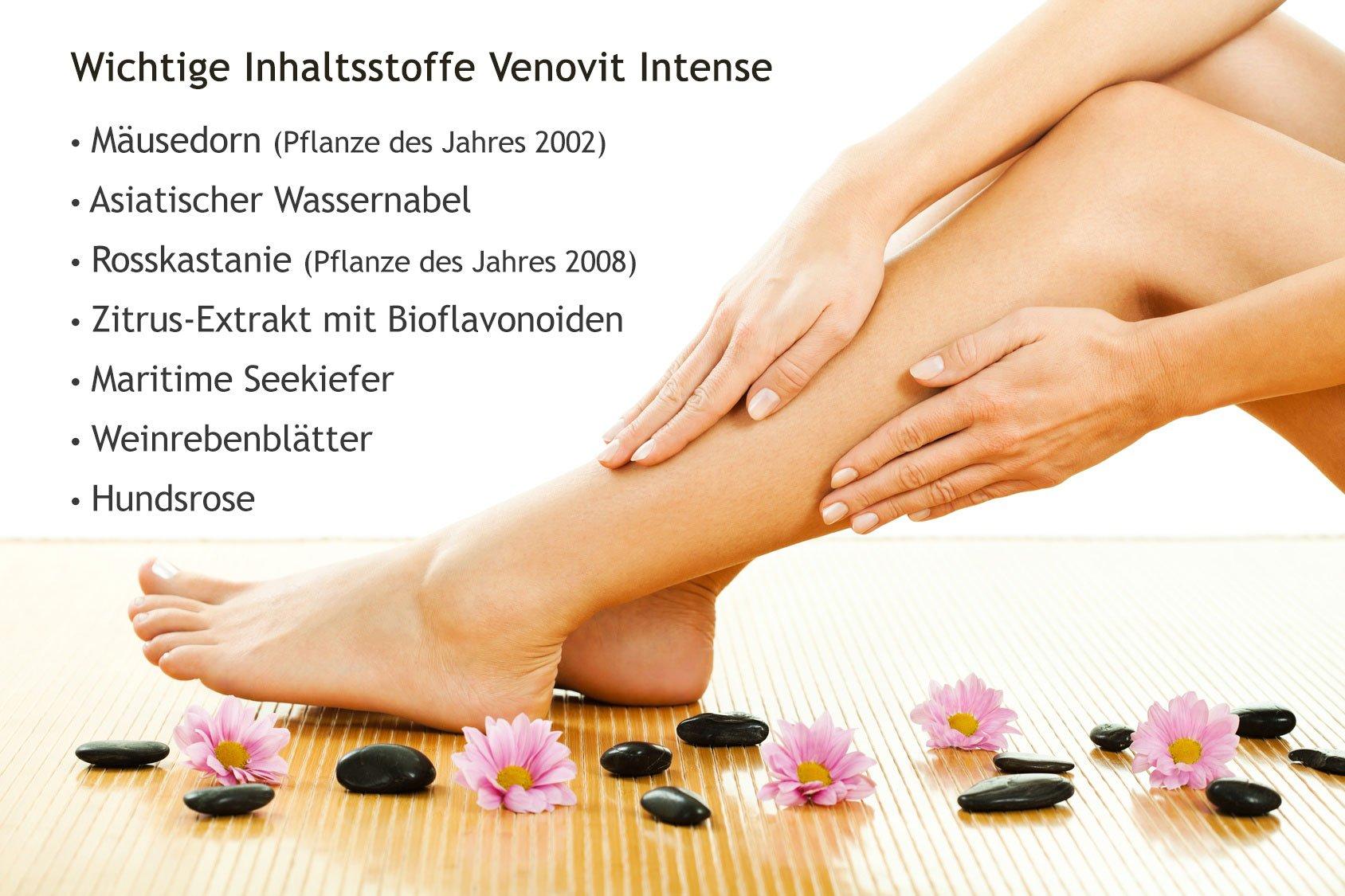 Venovit intense - 180 Kapseln von Natura Vitalis®