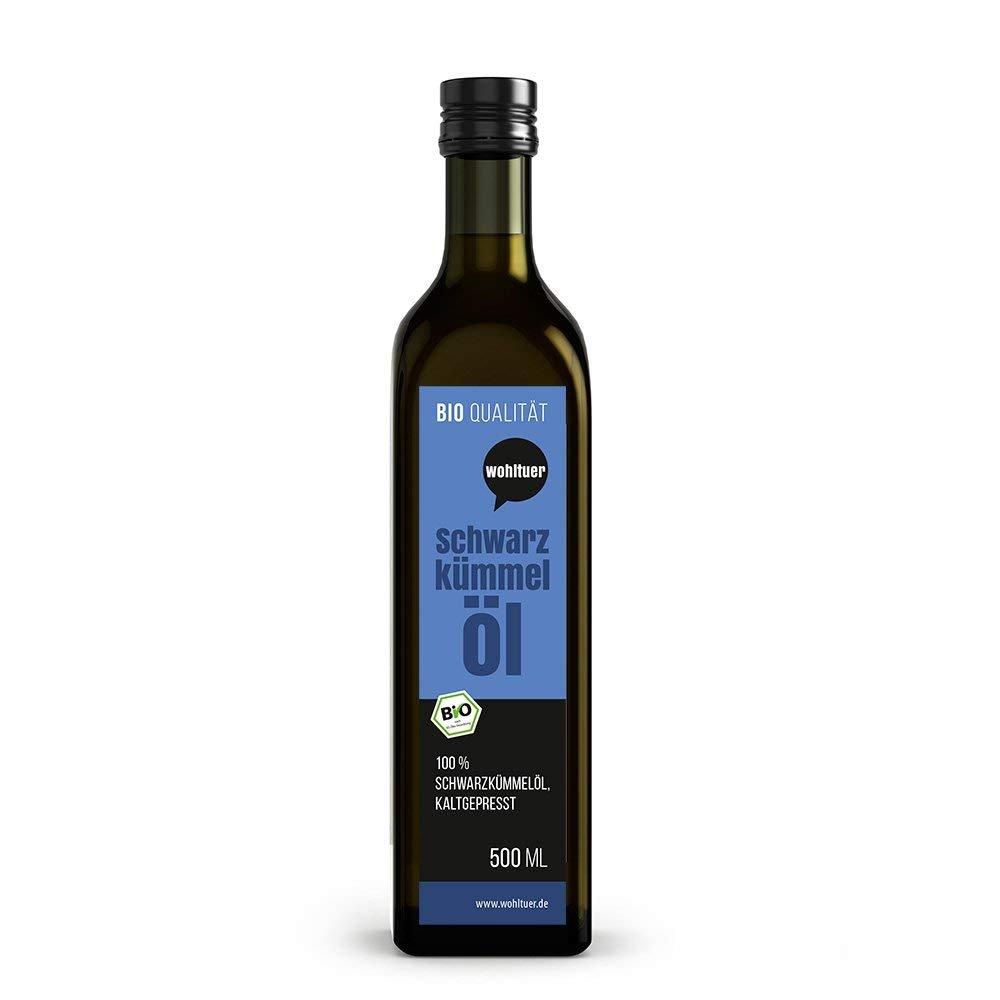 Bio Schwarzkümmelöl - 500ml