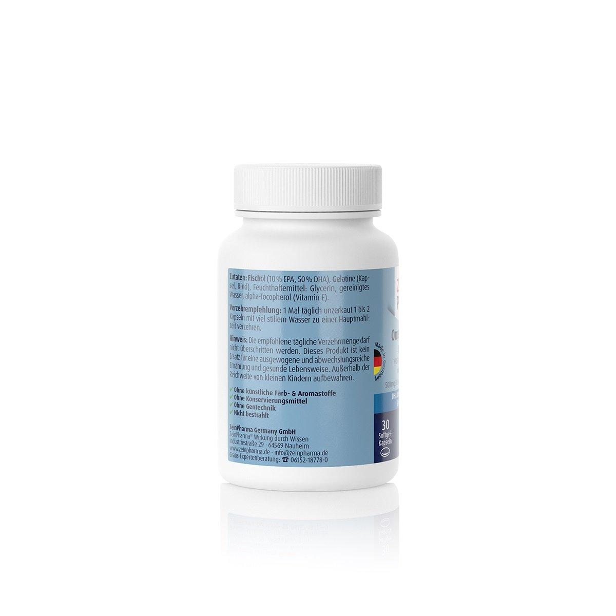 Omega-3 Gold - Brain Edition - 30 Kapseln