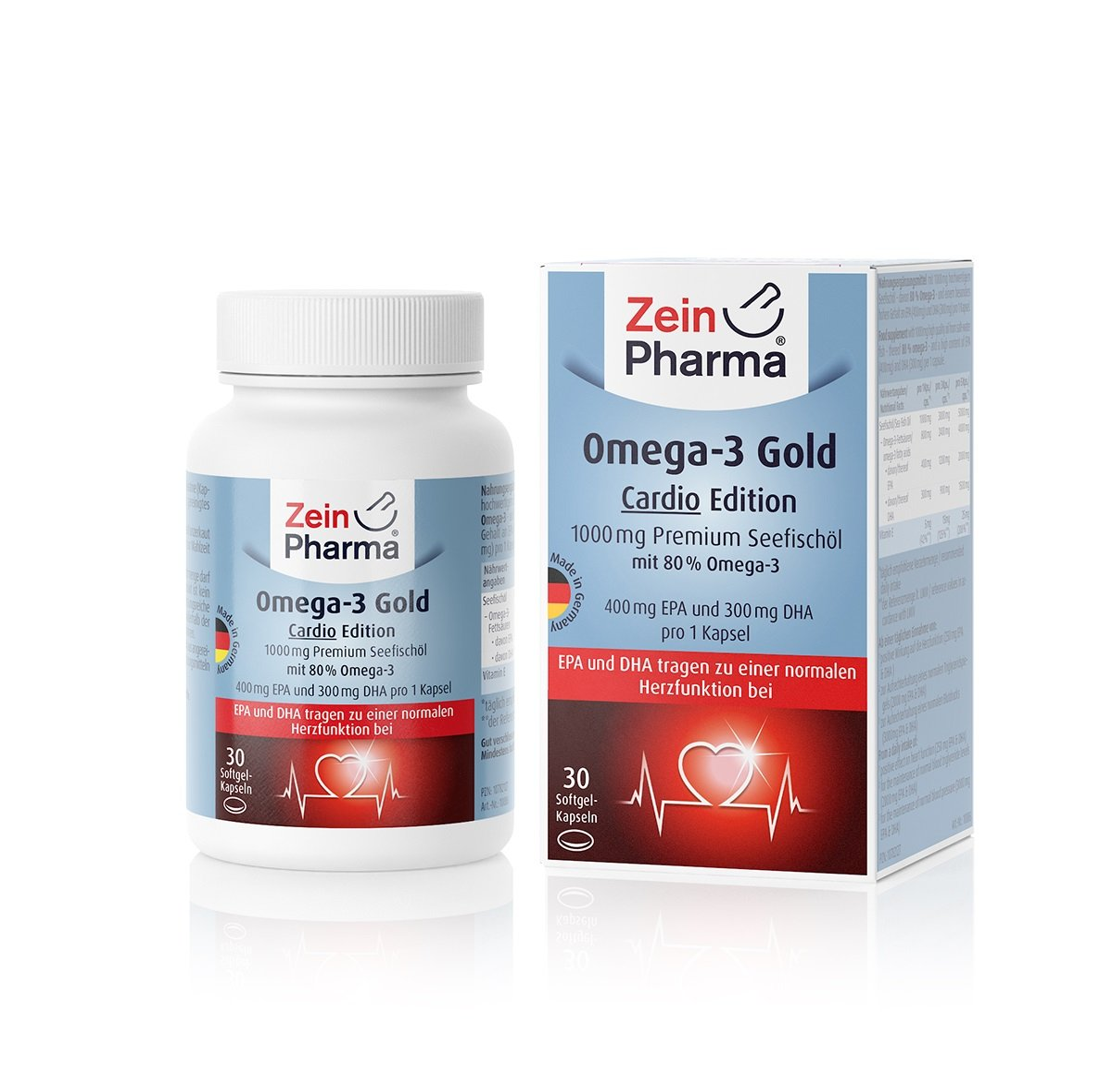 Omega-3 Gold Cardio Edition - 30 Kapseln