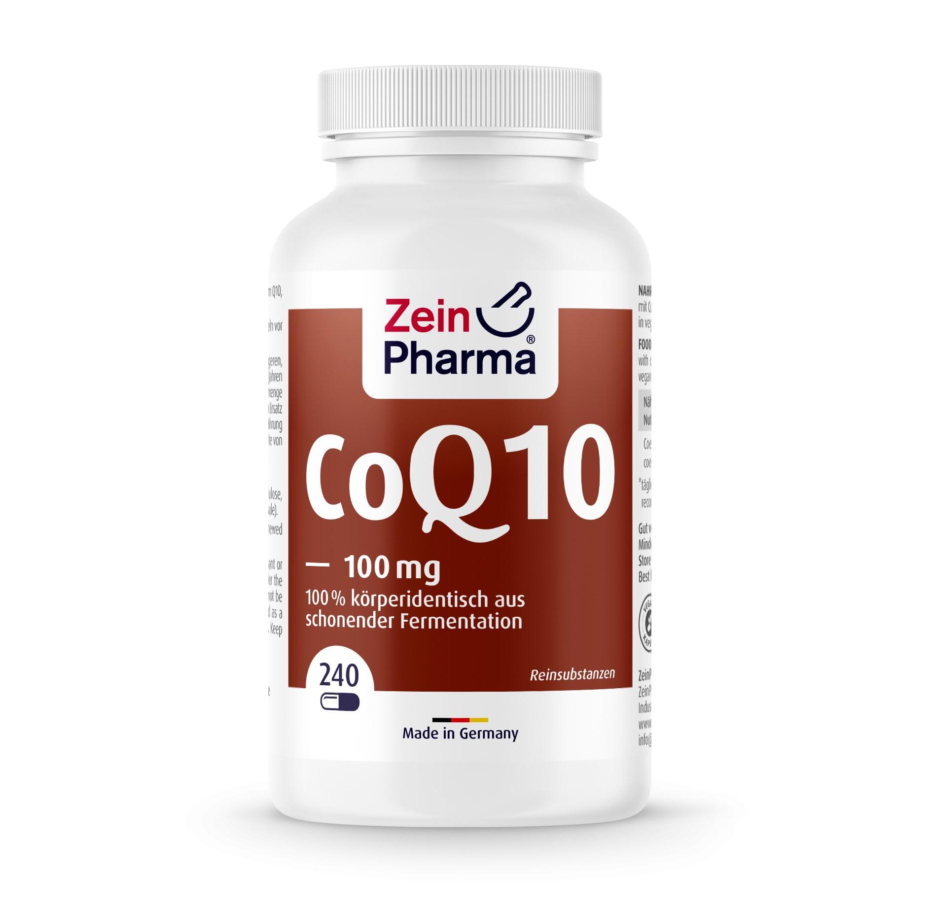 Coenzym Q10 100mg - 240 Kapseln