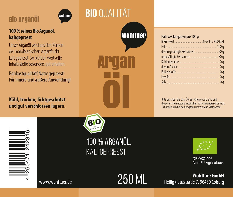 Bio Arganöl - 250ml