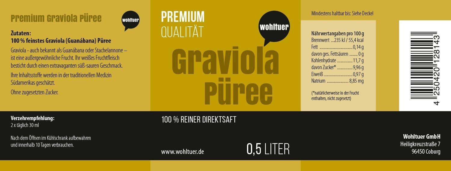 Graviola Püree - 500ml