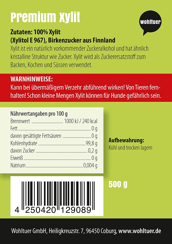 Xylit Birkenzucker - 500g