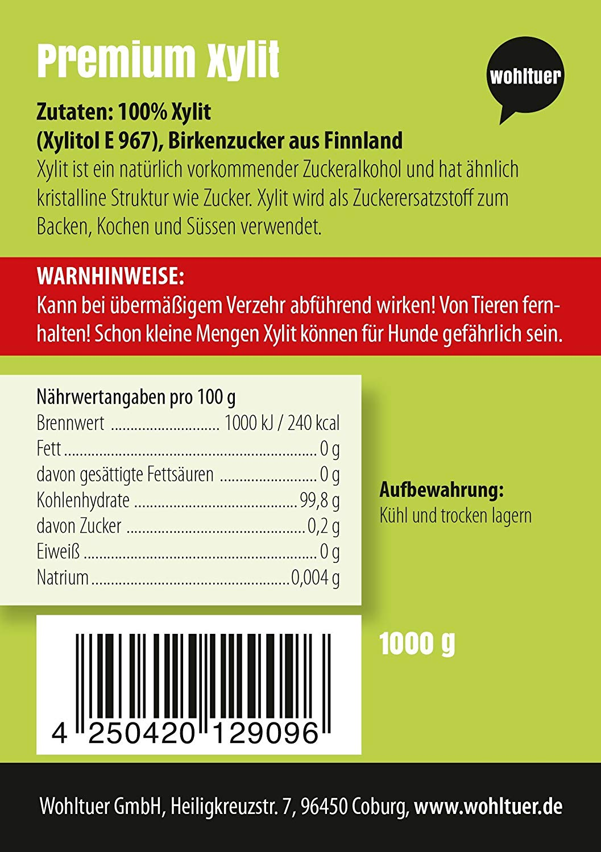 Xylit Birkenzucker - 1000g