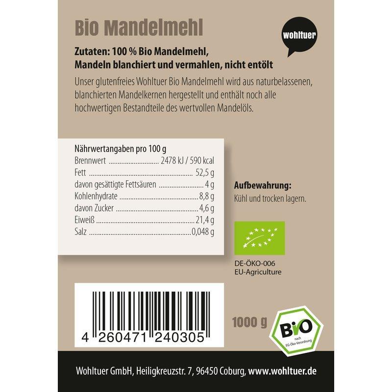 Bio Mandelmehl - 1000g