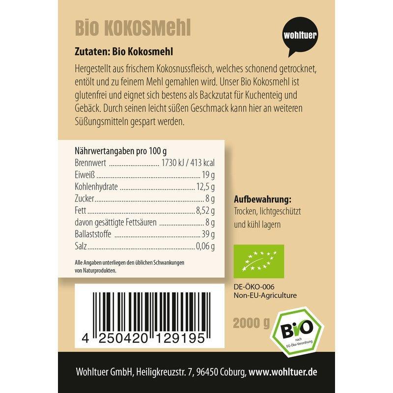 Bio Kokosmehl - 2000g