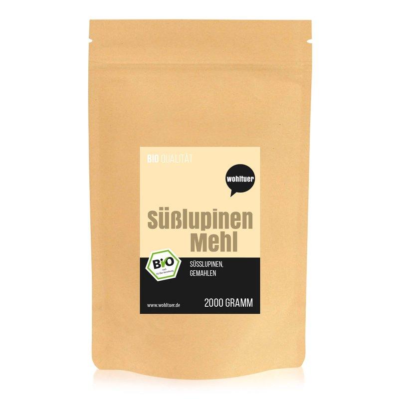 Bio Süßlupinenmehl - 2000g