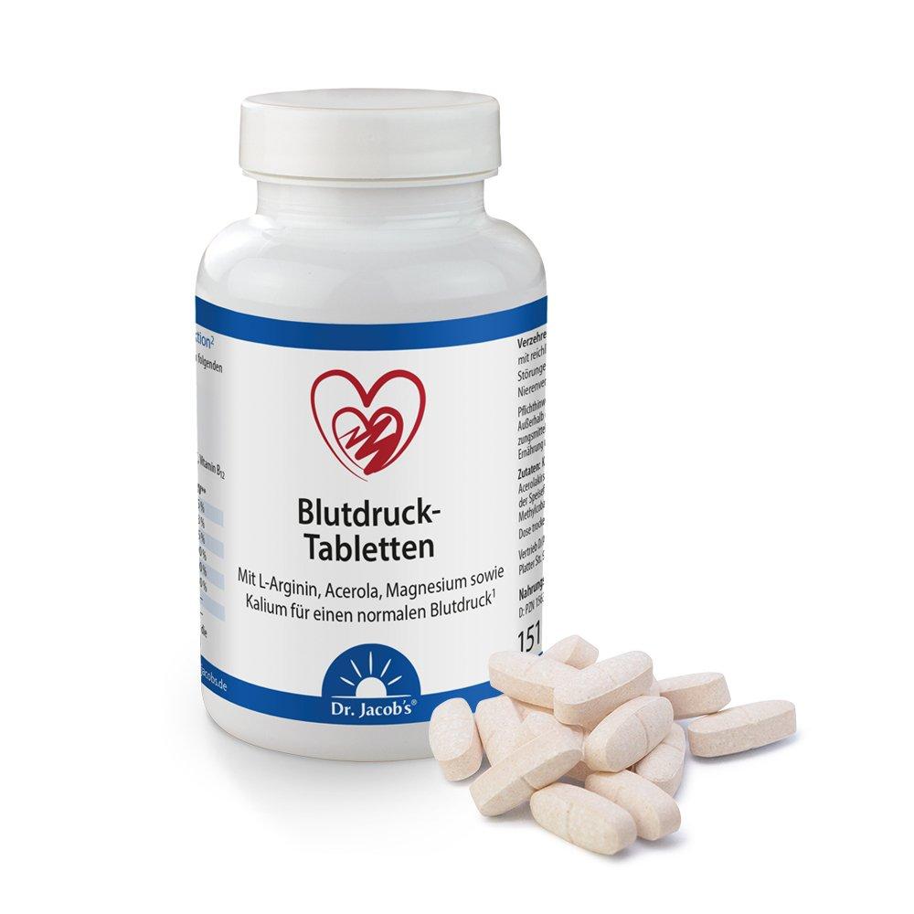 Dr. Jacobs Blutdruck-Tabletten - 120 Stück