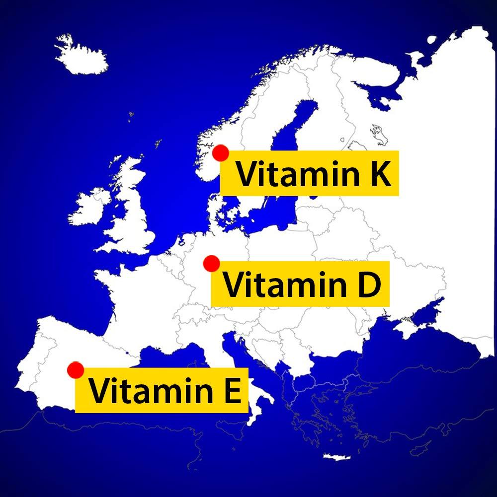 Dr. Jacobs Vitamin D3K2 Öl forte - 20 ml