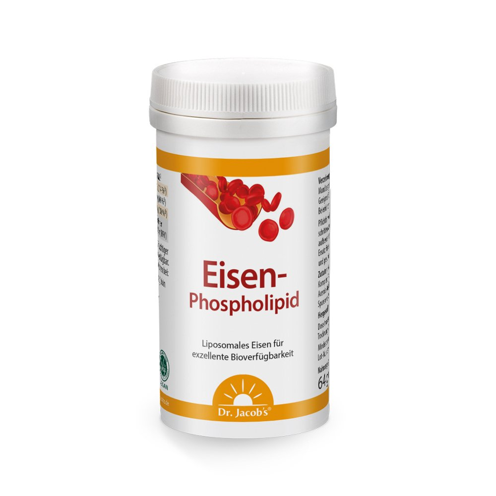 Dr. Jacobs Eisen-Phospholipid 64g