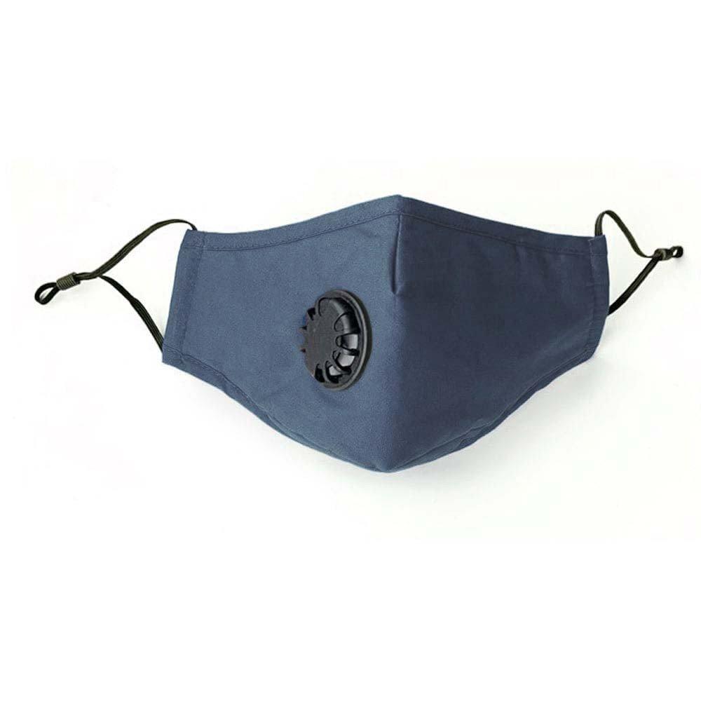 Community Mund- und Nasen Stoffmaske - petrolblau