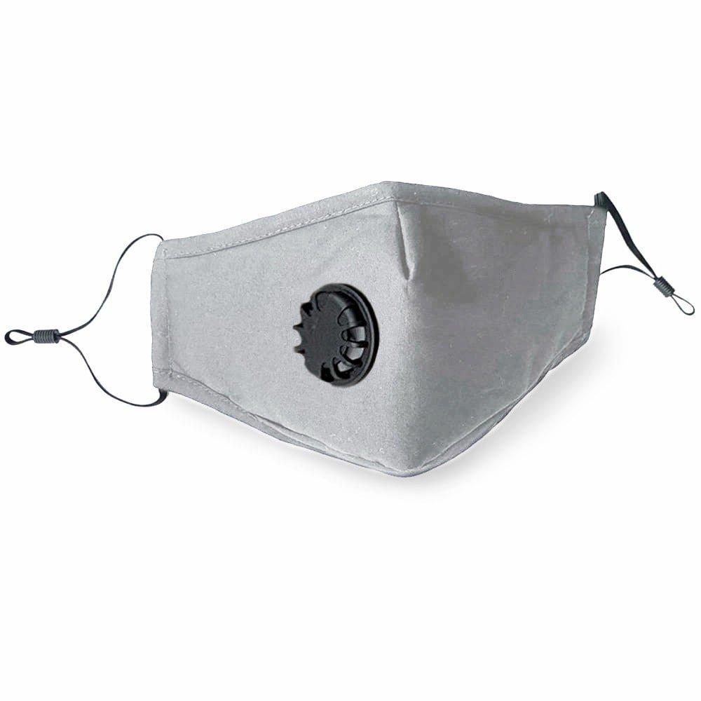 Community Mund- und Nasen Stoffmaske - grau
