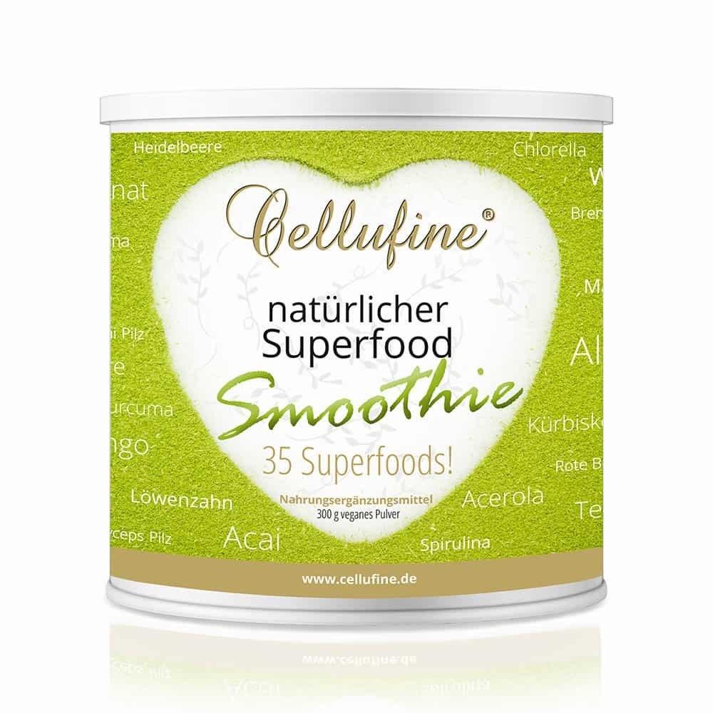 Cellufine® natürlicher Superfood-Smoothie - 300g veganes Pulver