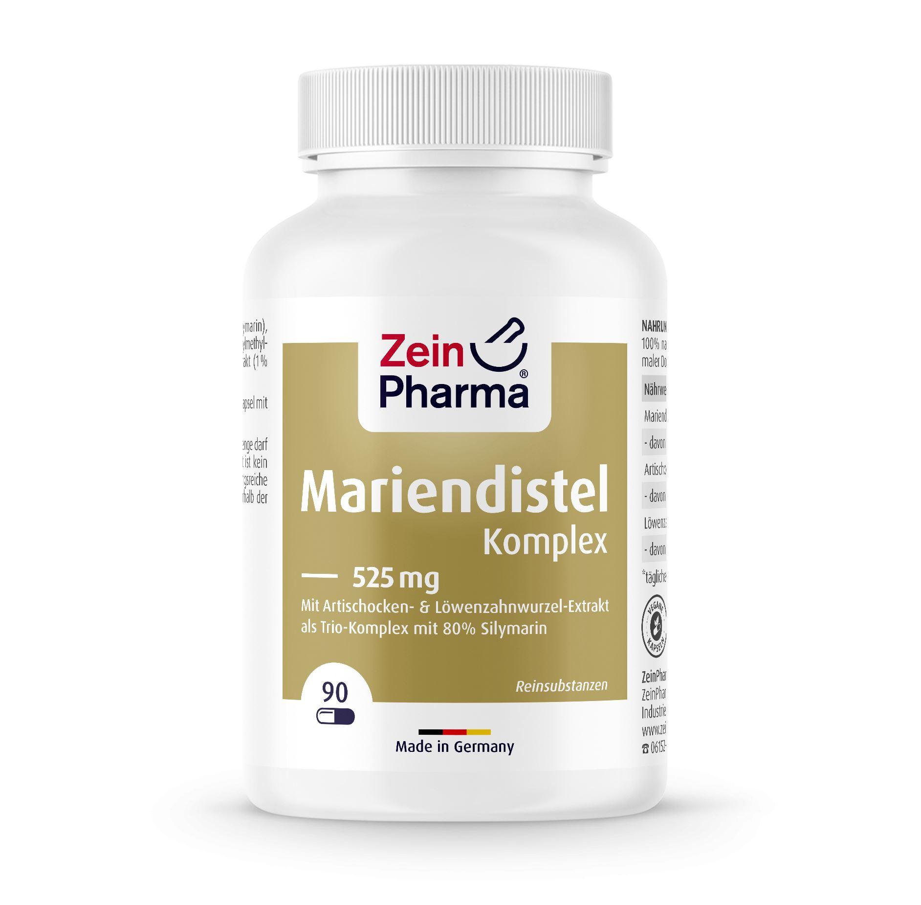 Mariendistel Komplex - 90 Kapseln