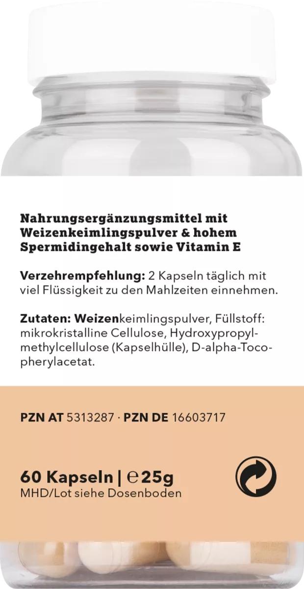 Spermidin Ursprung - 60 Kapseln