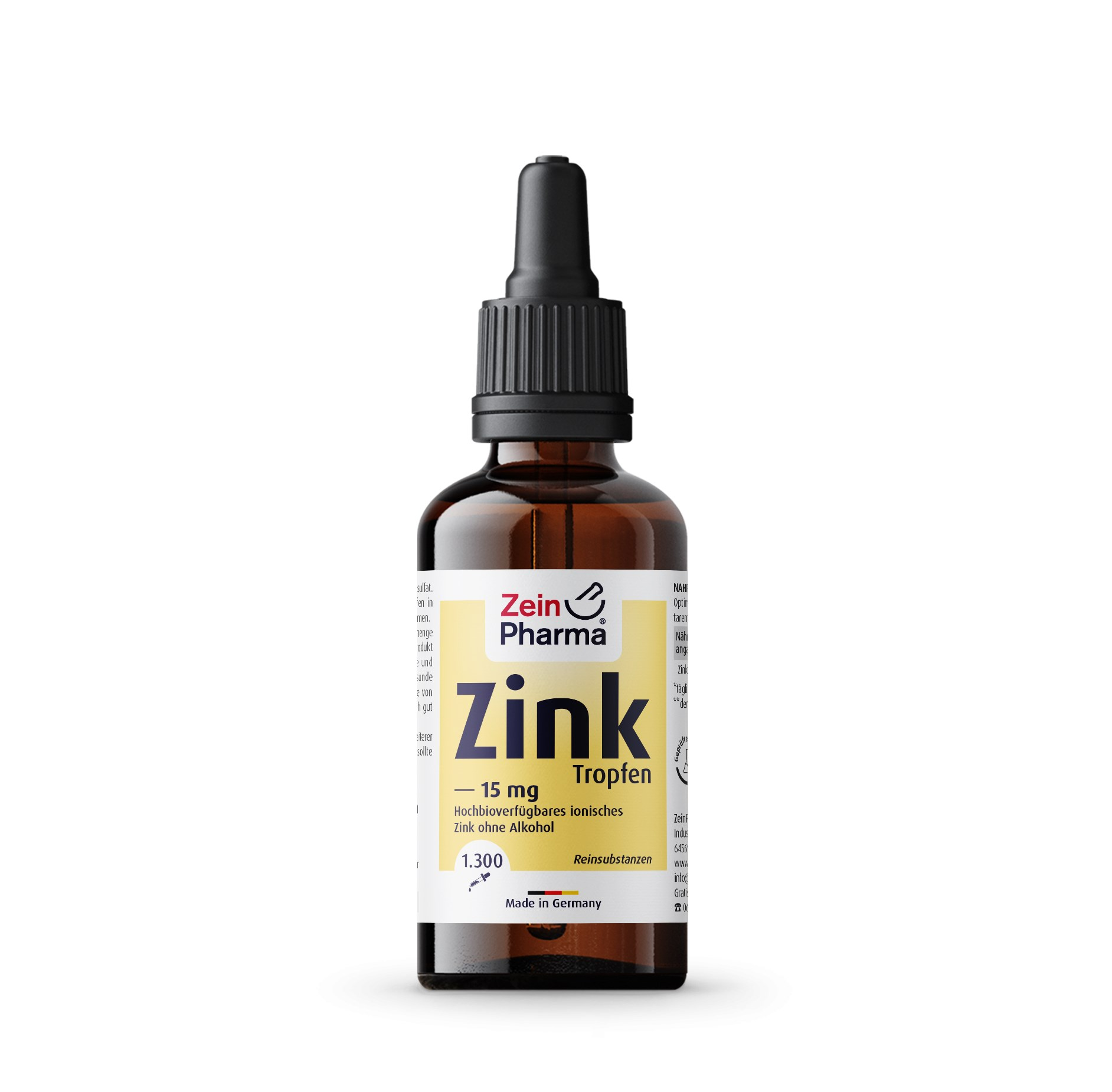 Zink Tropfen 15mg - 50ml