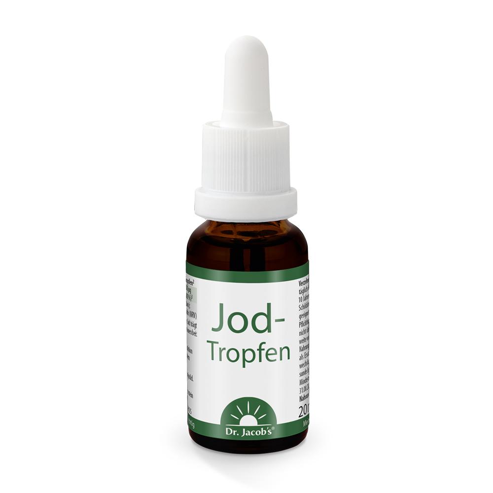Dr. Jacobs Jod-Tropfen - 20ml