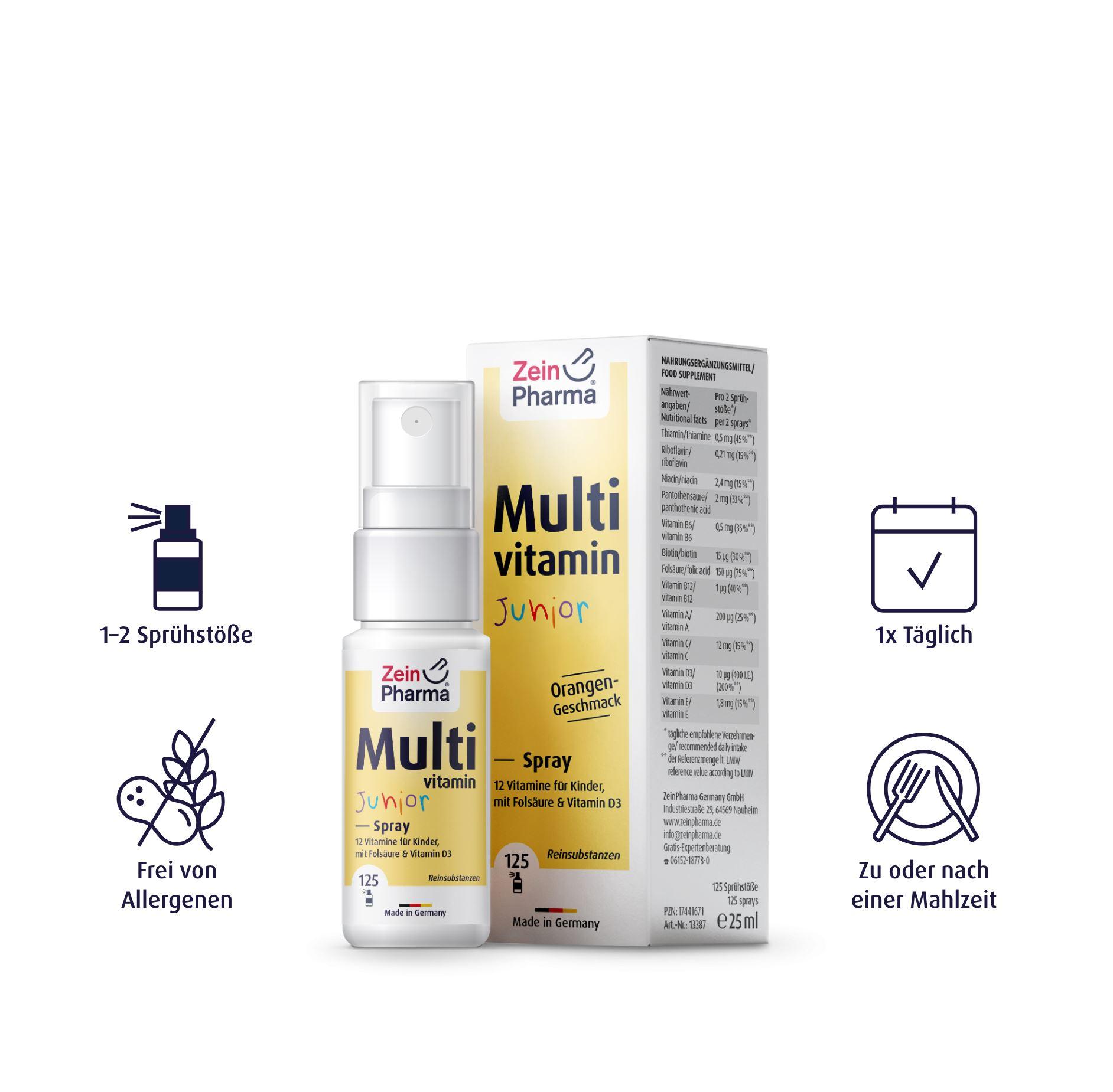 Multivitamin Junior Spray - 25 ml