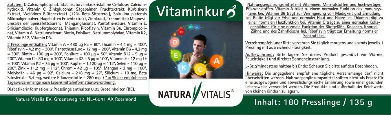 Vitaminkur für den Mann + High Energy Man