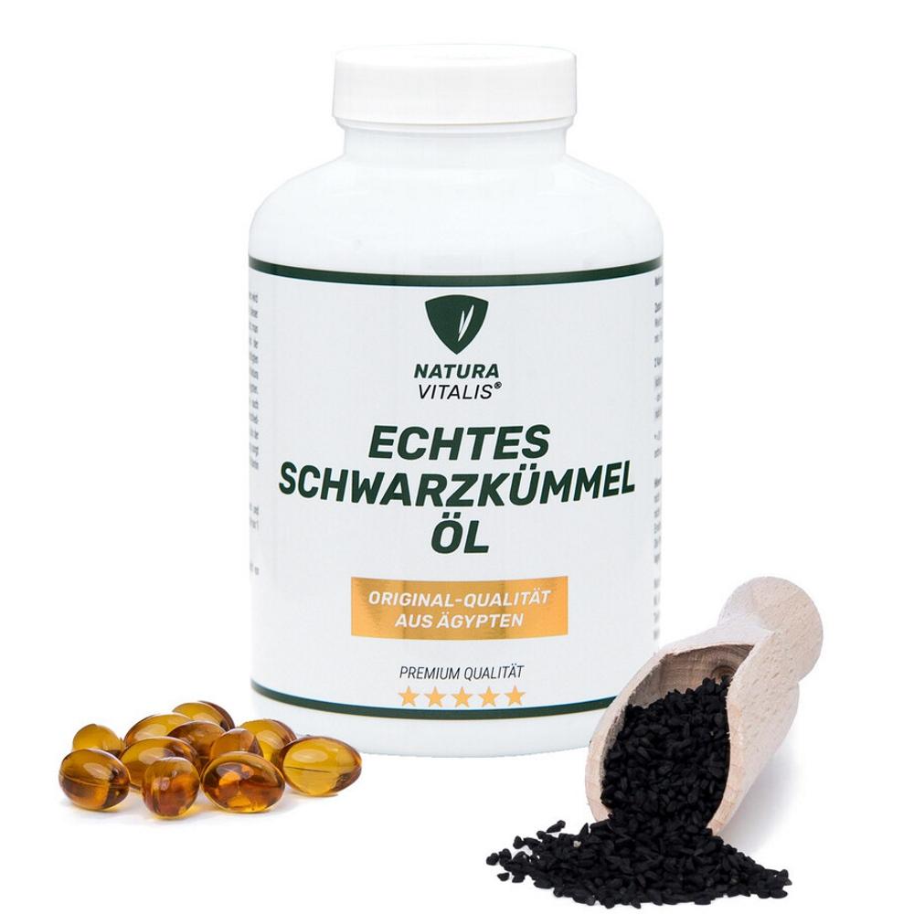Original ägyptisches Schwarzkümmelöl - 360 Softgels