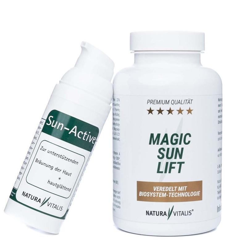 Magic-Sun Lift 240 Kapseln + Sun-Active-Creme 50 ml