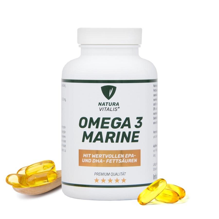 Omega 3 Marine mit Fischöl - 250 Softgels